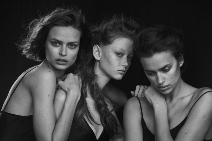 Peter Lindbergh Vogue Germany 1